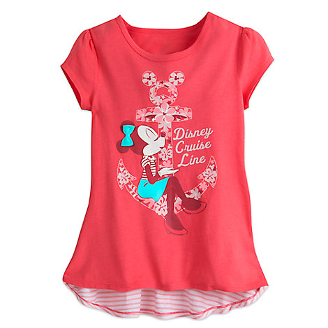 Minnie Mouse Floral Tee for Girls - Disney Cruise Line