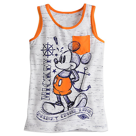 Mickey Mouse Ringer Tank Tee for Boys - Disney Cruise Line