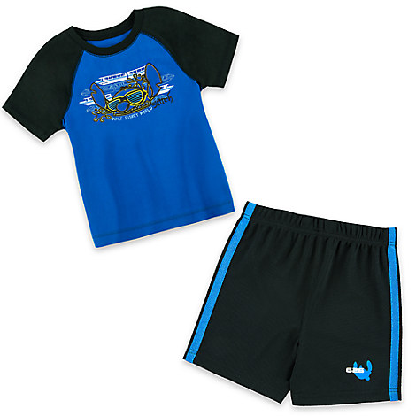 Stitch Short Set for Boys