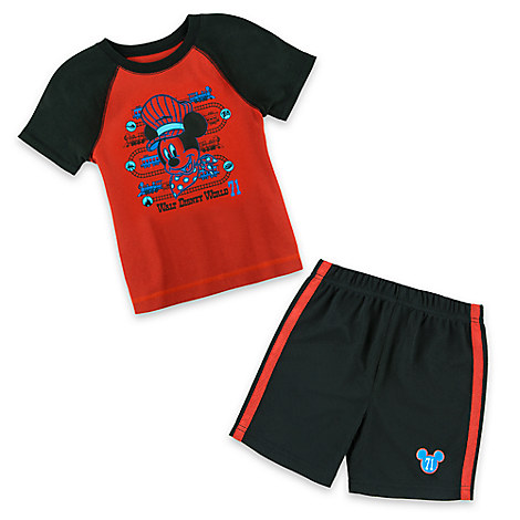 Mickey Mouse Short Set for Boys