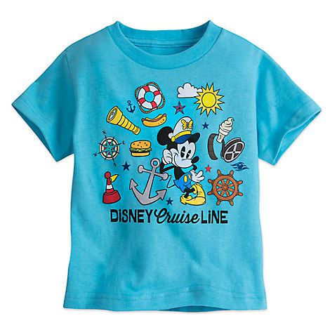 Mickey Mouse Tee for Toddlers - Disney Cruise Line