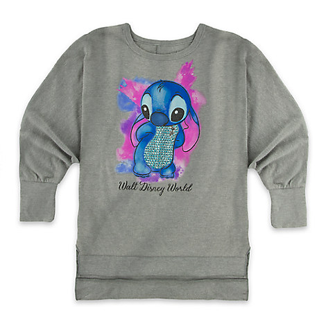 Stitch Sequin Top for Girls - Walt Disney World