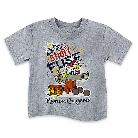 Donald Duck Pirates of the Caribbean Tee for Boys