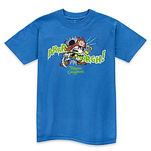 "Mickey Mouse ""Arrrrrrrrrrgh!"" Pirates of the Caribbean Tee for Boys"