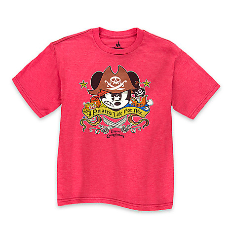 Mickey Mouse ''A Pirates Life for Me'' Pirates of the Caribbean Tee for Boys