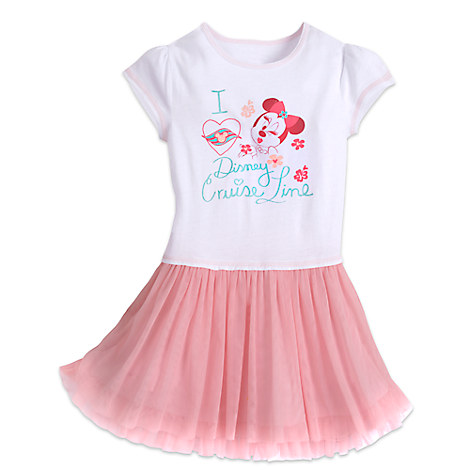 Minnie Mouse Pink Floral Tutu - Disney Cruise Line