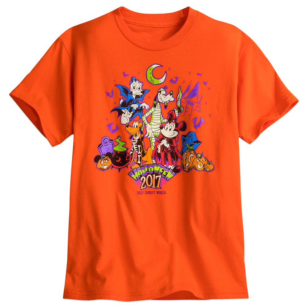Mickey Mouse and Friends Halloween Tee for Kids – Walt Disney World