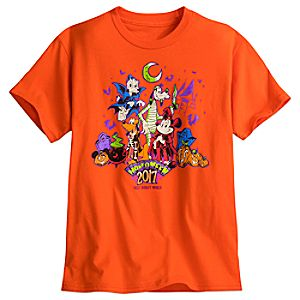 Mickey Mouse and Friends Halloween Tee for Kids - Walt Disney World