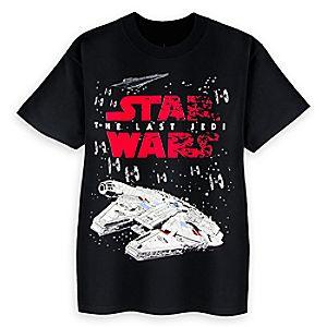 Star Wars: The Last Jedi Logo T-Shirt for Kids