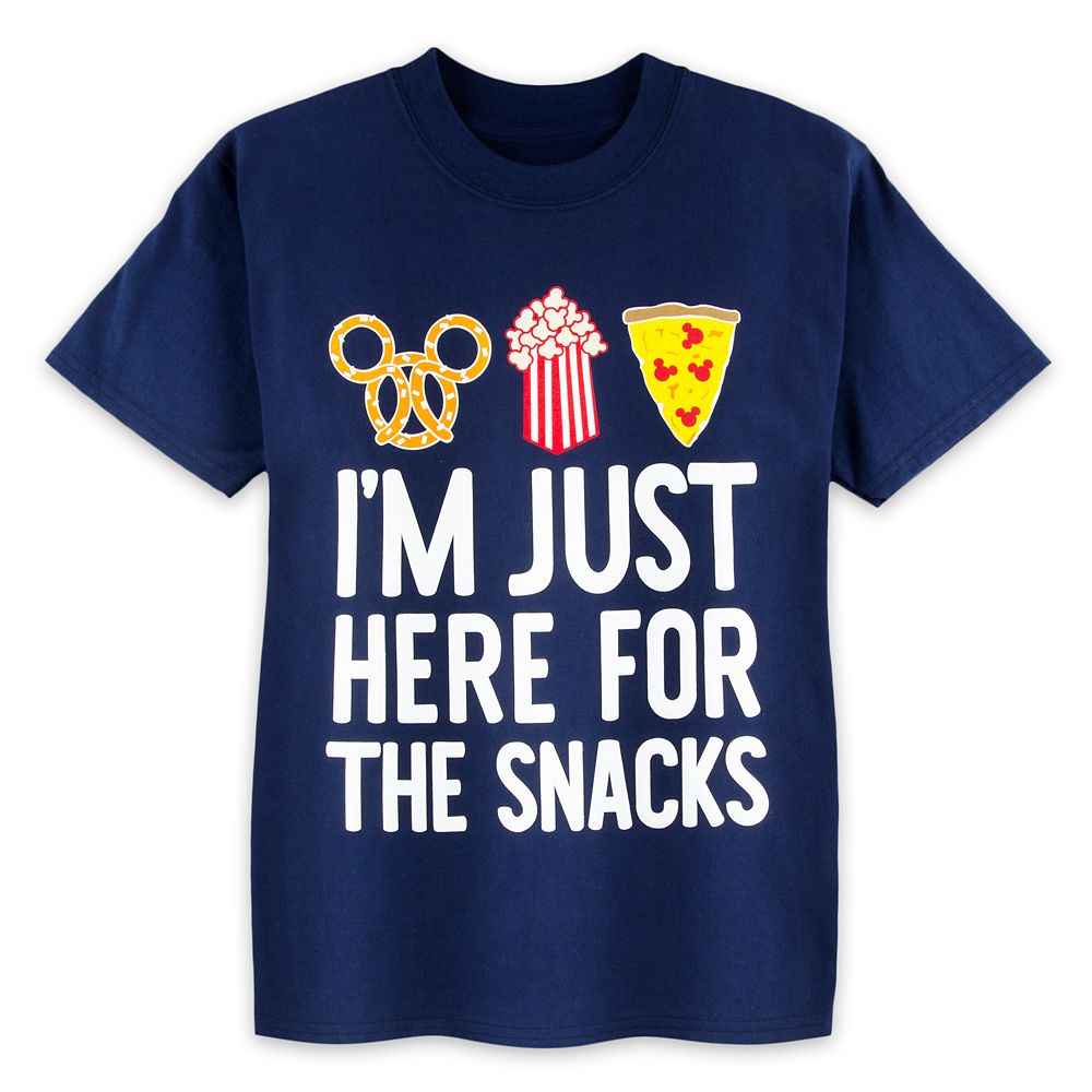 1aa54560fde94 Disney Parks ''Here For The Snacks'' T-Shirt for Kids