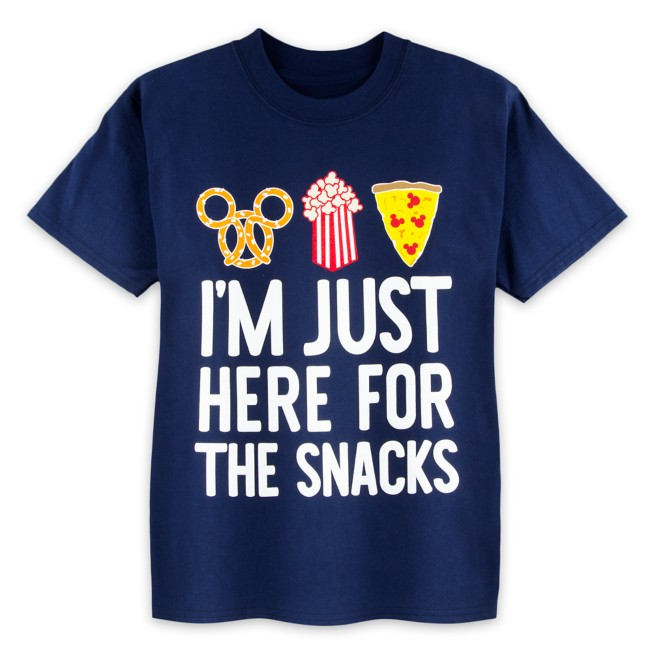 Disney Parks ''Here For The Snacks'' T-Shirt for Kids
