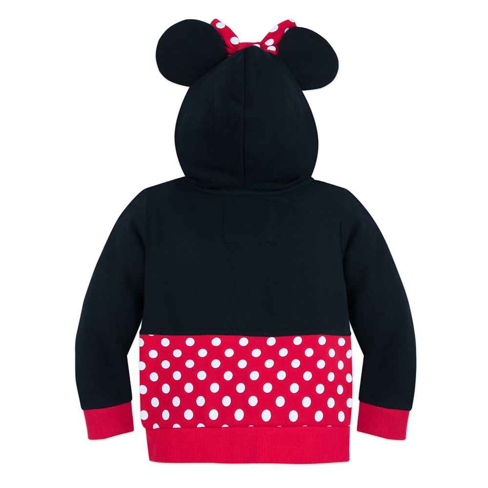 I Am Minnie Mouse Zip-Up Hoodie for Toddlers