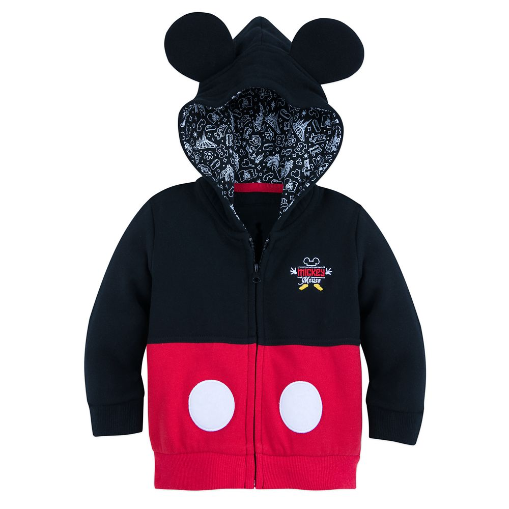 I Am Mickey Mouse Zip-Up Hoodie for Baby Official shopDisney