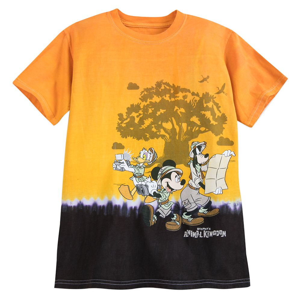 Mickey Mouse and Friends Tie-Dye T-Shirt for Kids – Disney's Animal Kingdom