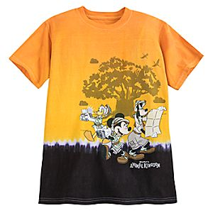 Mickey Mouse and Friends Tie-Dye T-Shirt for