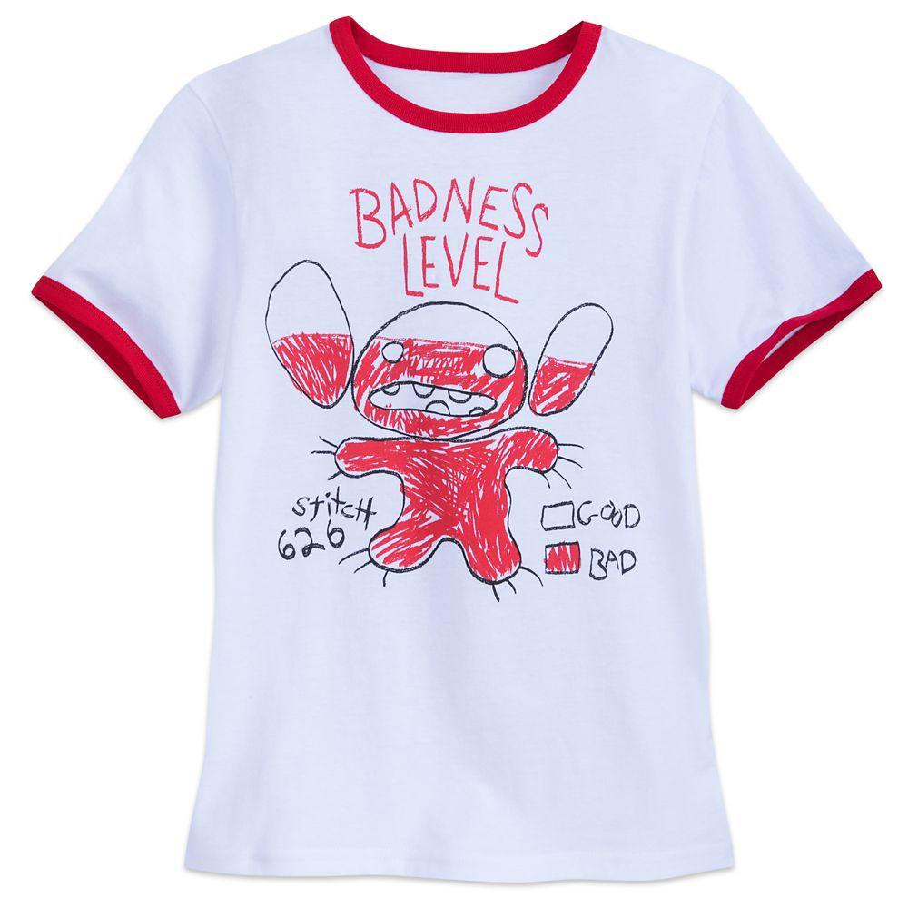 Stitch Ringer T-Shirt for Boys Official shopDisney