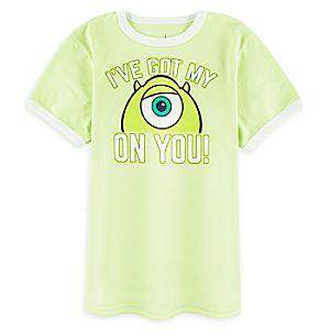 Mike Wazowski Ringer T-Shirt for Boys 7507057371239M