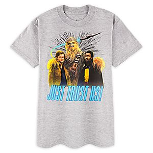 Han Solo, Chewbacca, and Lando T-Shirt for Kids - Solo: A Star Wars Story 7507057371245M