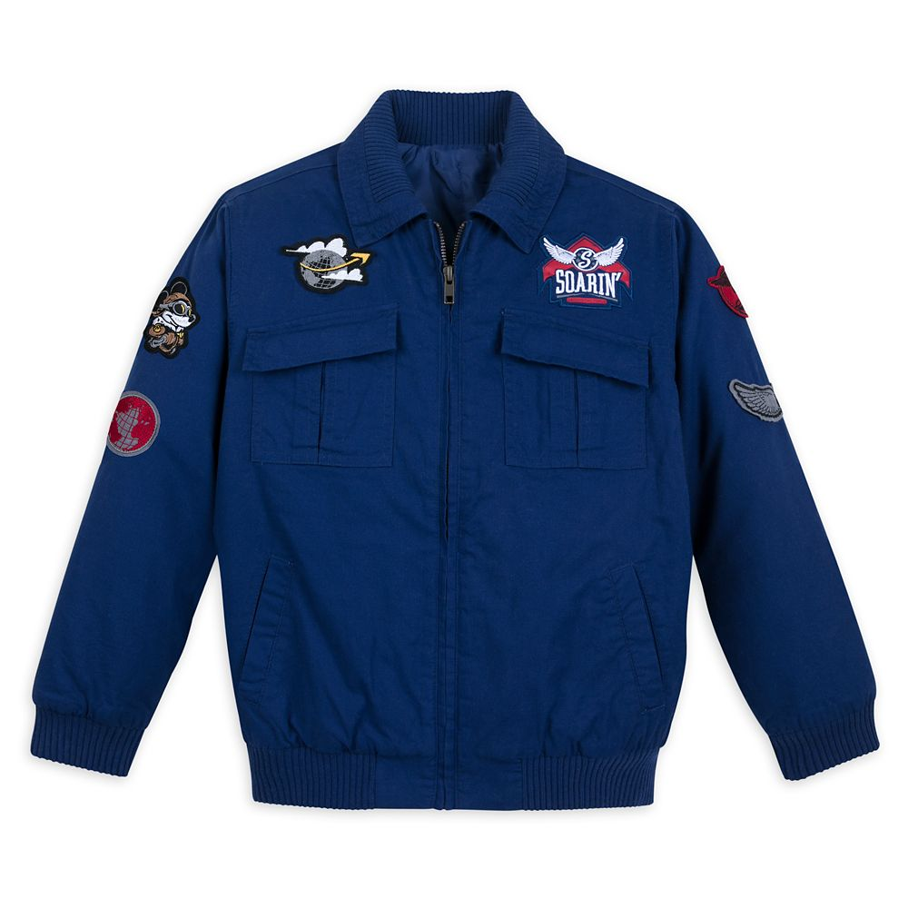 Mickey Mouse Soarin' Around the World Jacket for Boys
