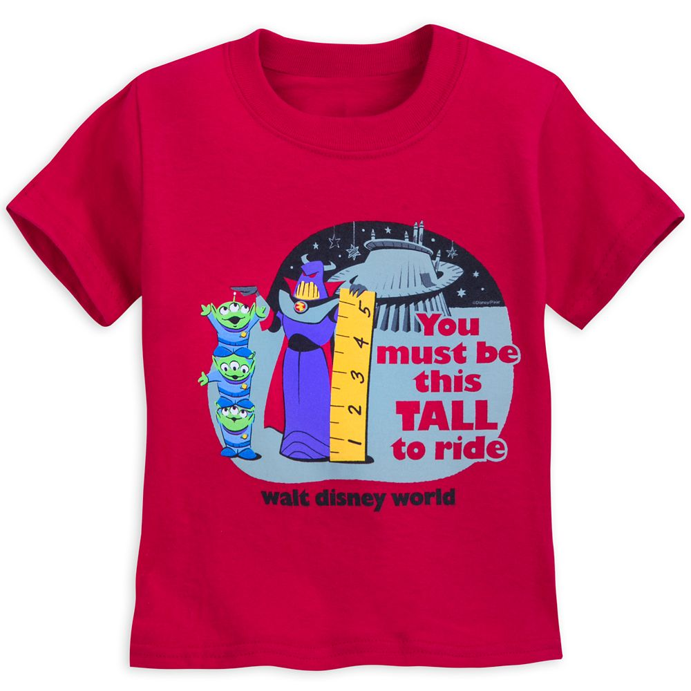 Zurg and Space Aliens T-Shirt for Kids  Toy Story Land Official shopDisney