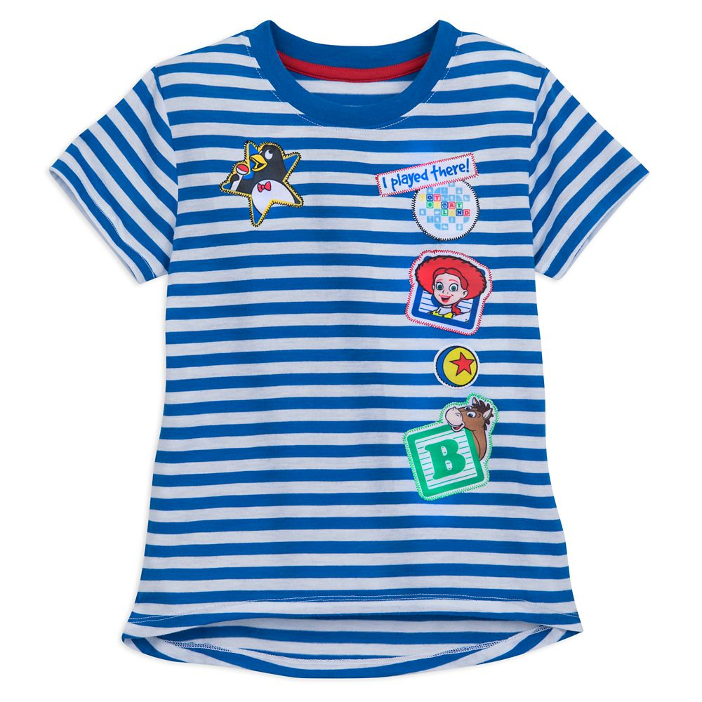 Toy Story Land Striped T-Shirt for Girls – Walt Disney World