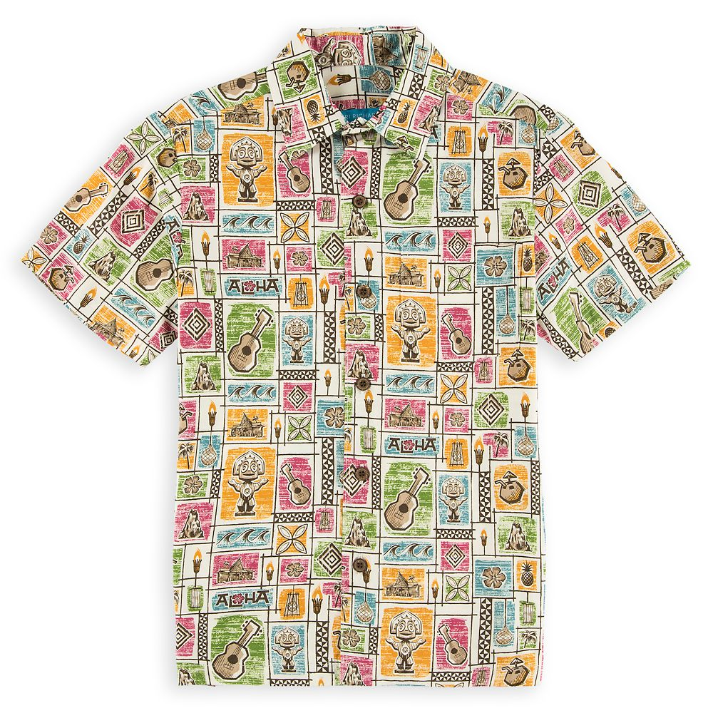 Disney's Polynesian Resort Aloha Shirt for Kids
