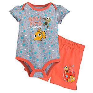 Finding Nemo Cuddly Bodysuit and Shorts Set