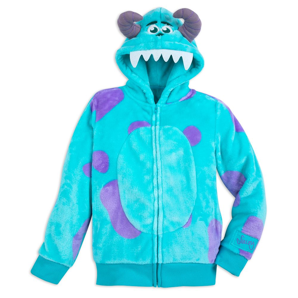 Sulley Costume Zip Hoodie for Kids