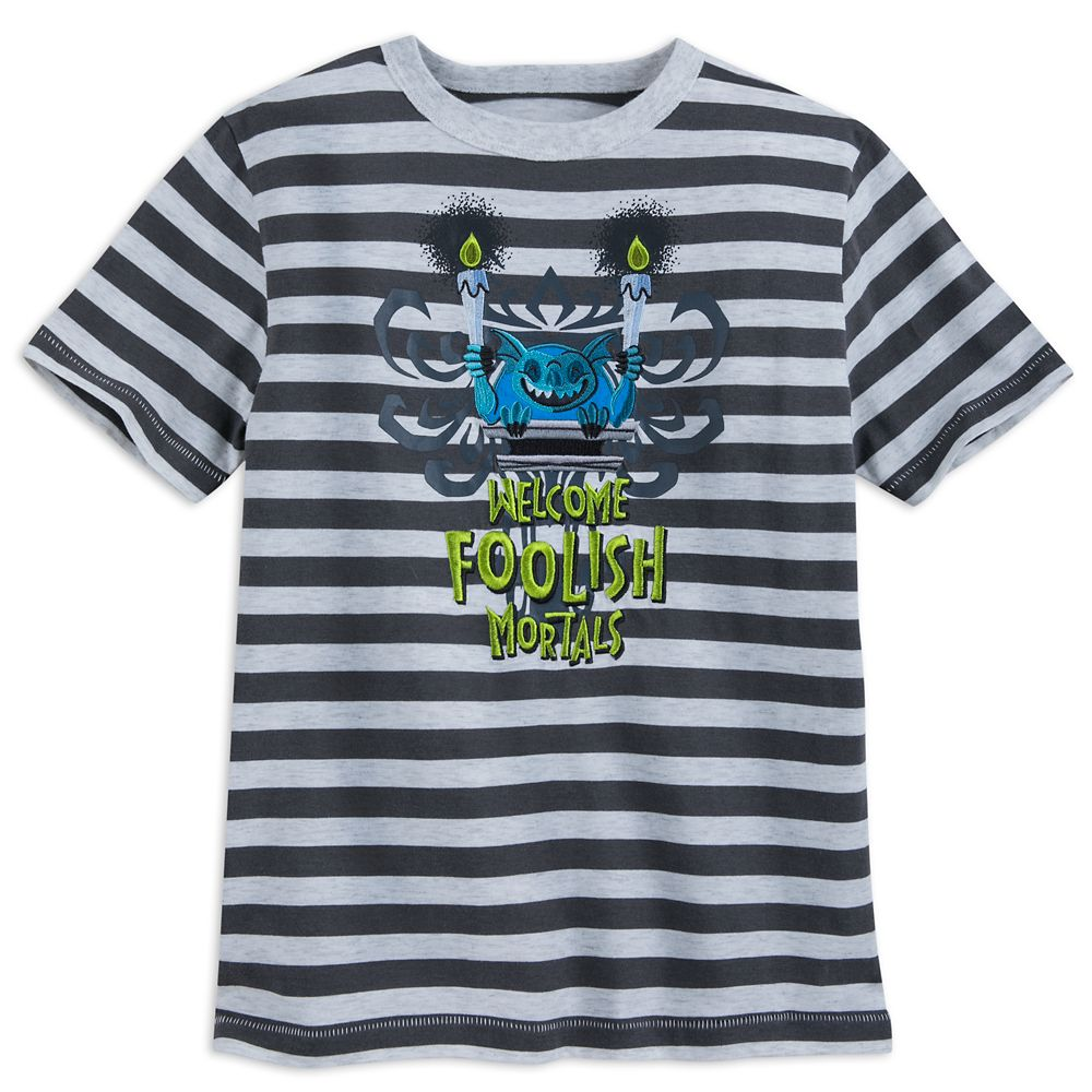 The Haunted Mansion Striped T-Shirt for Boys