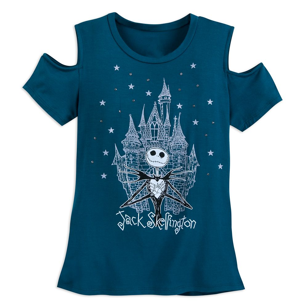 Jack Skellington Fashion T-Shirt for Girls Official shopDisney