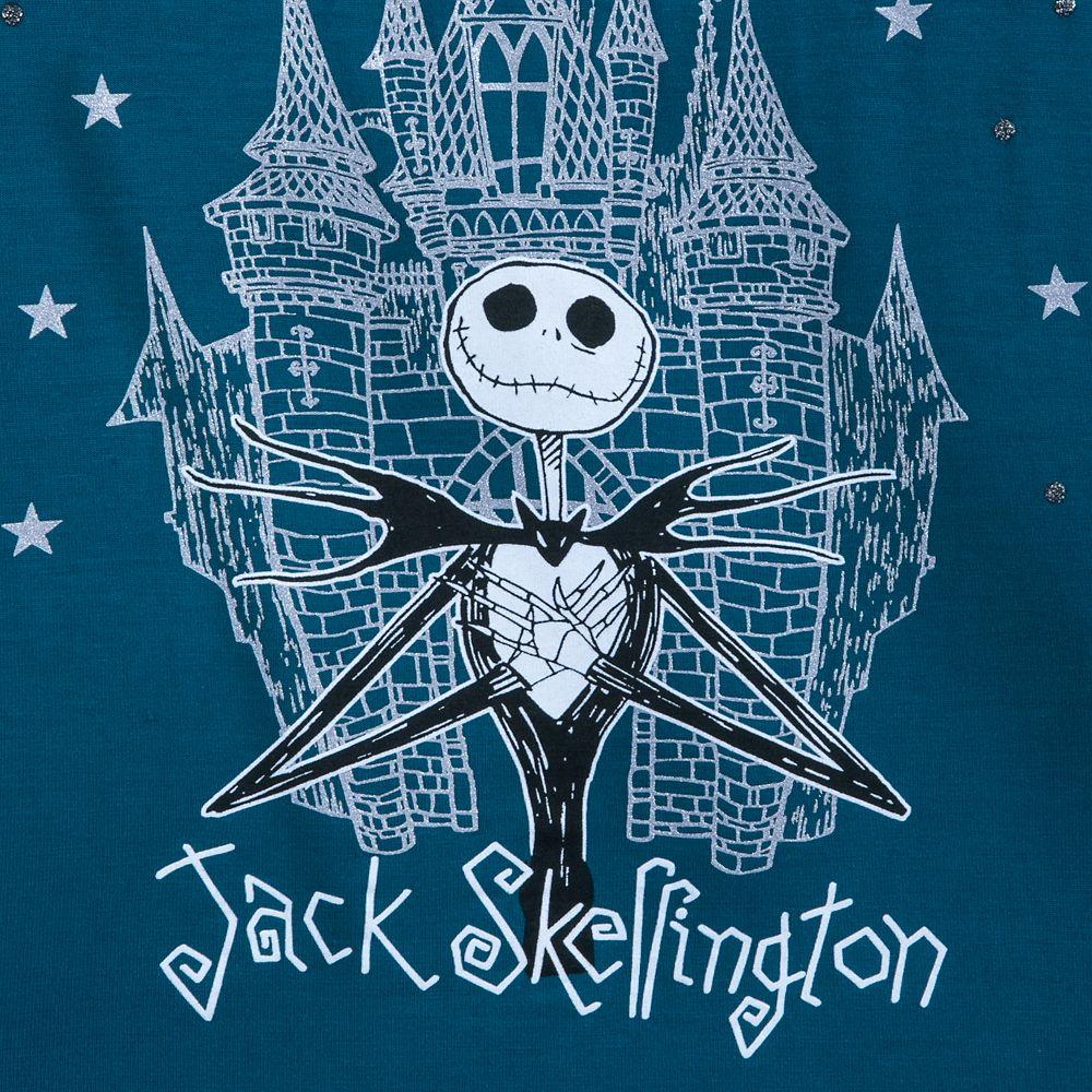 Jack Skellington Fashion T-Shirt for Girls