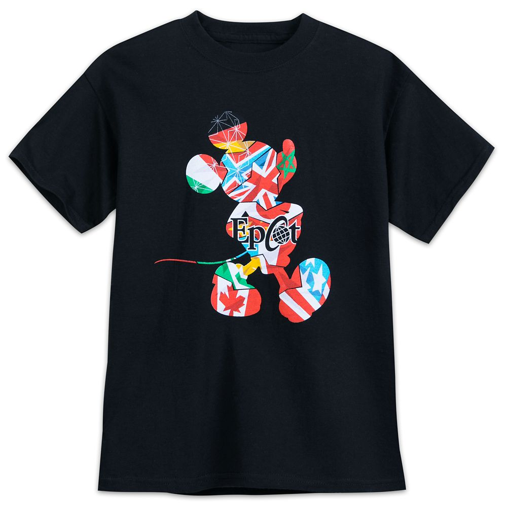 Mickey Mouse Epcot T-Shirt for Boys
