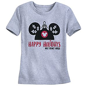 Mouseketeer Holiday Sleep T-Shirt for Kids - Walt Disney World