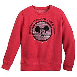 Mickey Mouse Club ''Roll Call'' Pullover for