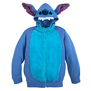 Stitch Costume Zip Hoodie for Kids
