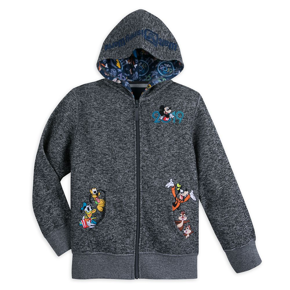Mickey Mouse and Friends Knit Hoodie for Boys – Walt Disney World 2019