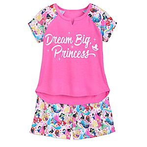 Image of Disney Princess Pajamas for Girls