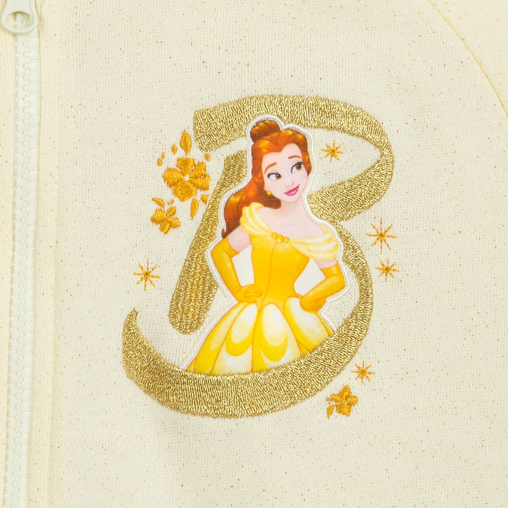Belle with Fantasyland Castle Hoodie for Girls