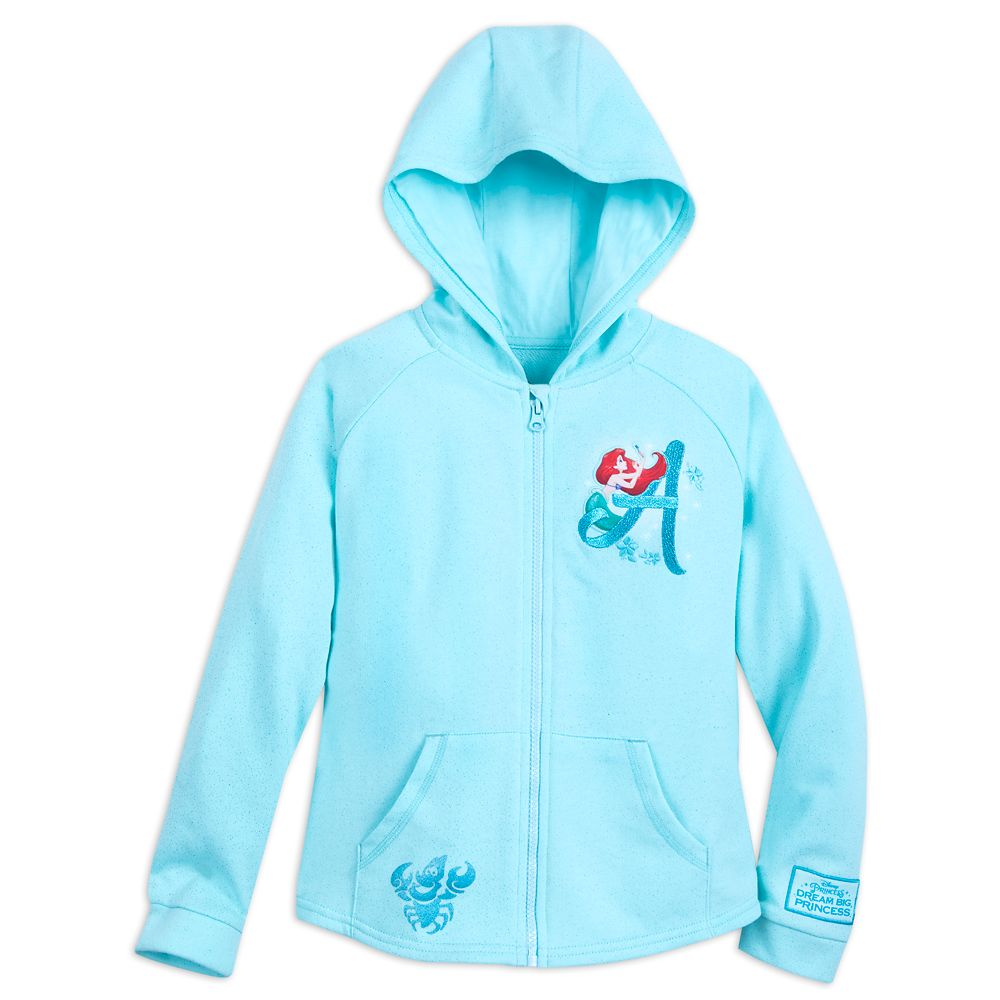 Ariel with Fantasyland Castle Hoodie for Girls Official shopDisney