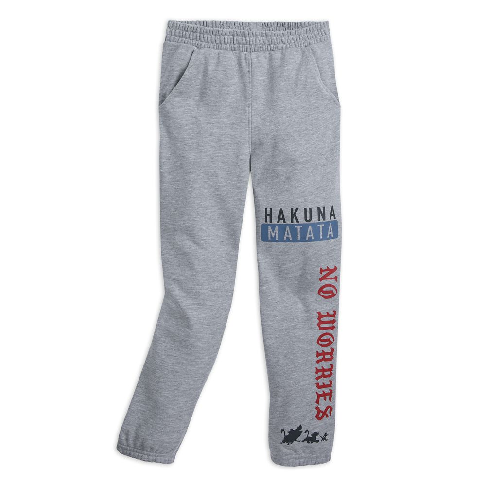 The Lion King ''Hakuna Matata'' Sweatpants for Kids
