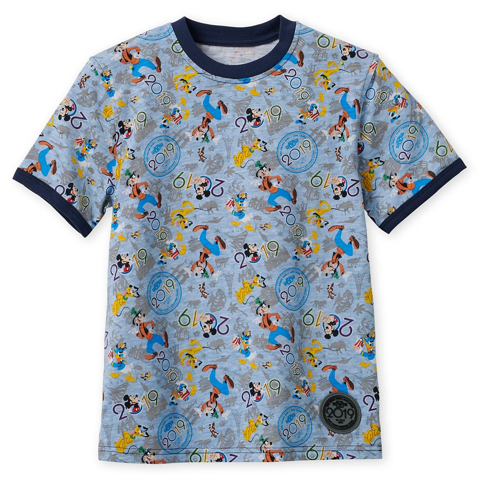 Mickey Mouse and Friends Ringer T-Shirt for Kids  Walt Disney World 2019