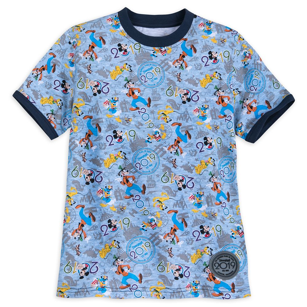 Mickey Mouse and Friends Ringer T-Shirt for Kids – Disneyland 2019