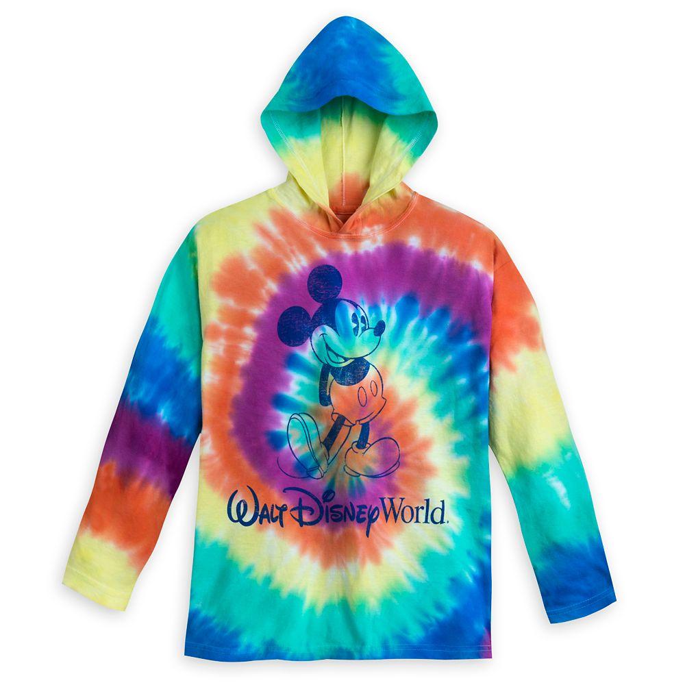 Mickey Mouse Tie-Dye Hoodie T-Shirt for Kids – Walt Disney World