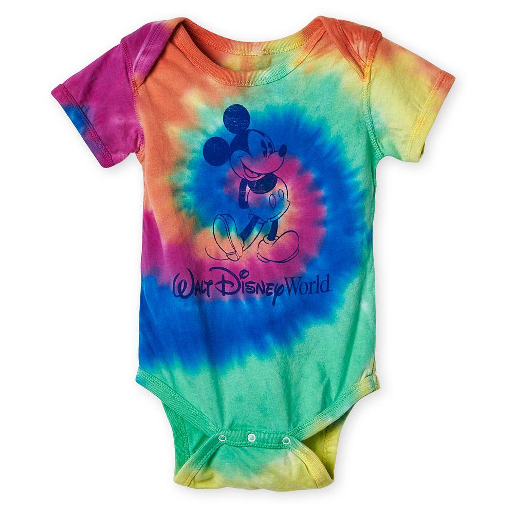 Mickey Mouse Tie-Dye Bodysuit for Baby – Walt Disney World