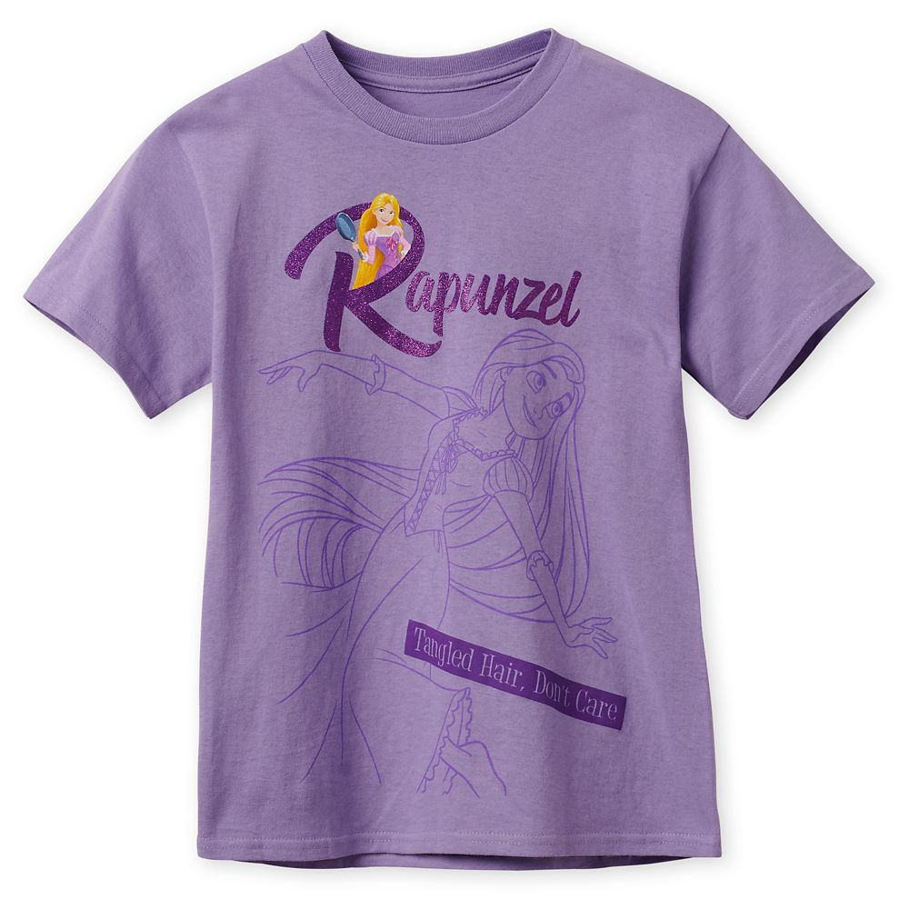 Rapunzel ''Tangled Hair, Don't Care'' T-Shirt for Kids
