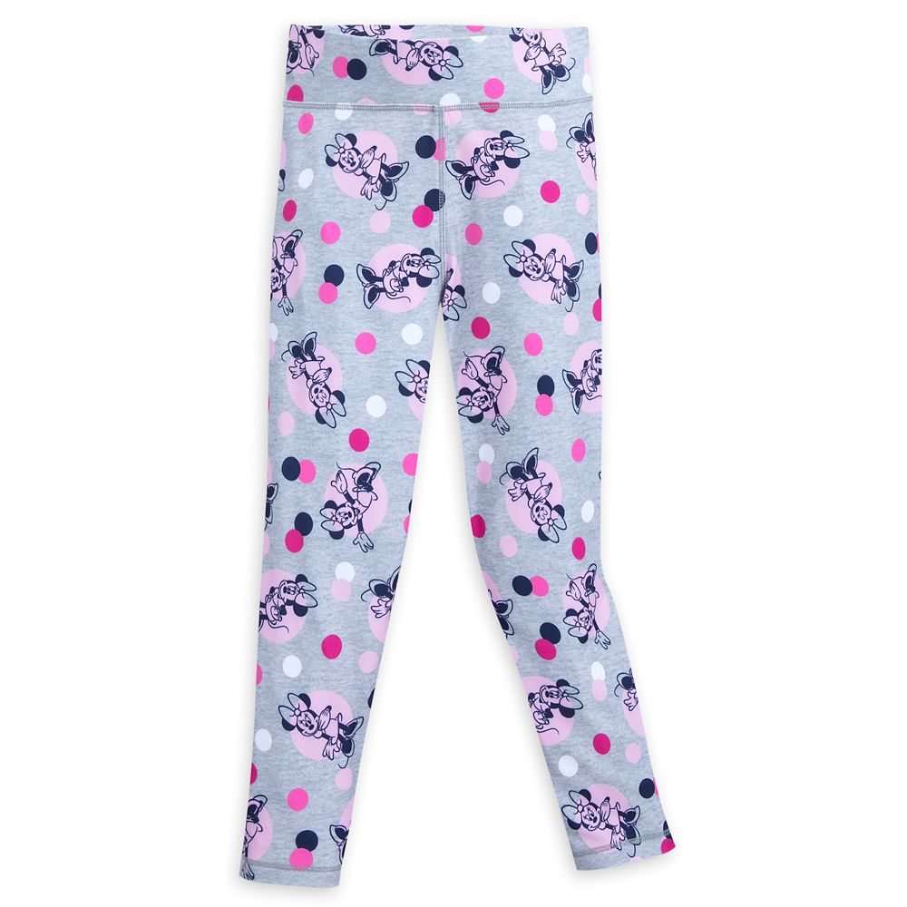 Minnie Mouse Polka Dot Leggings for Girls