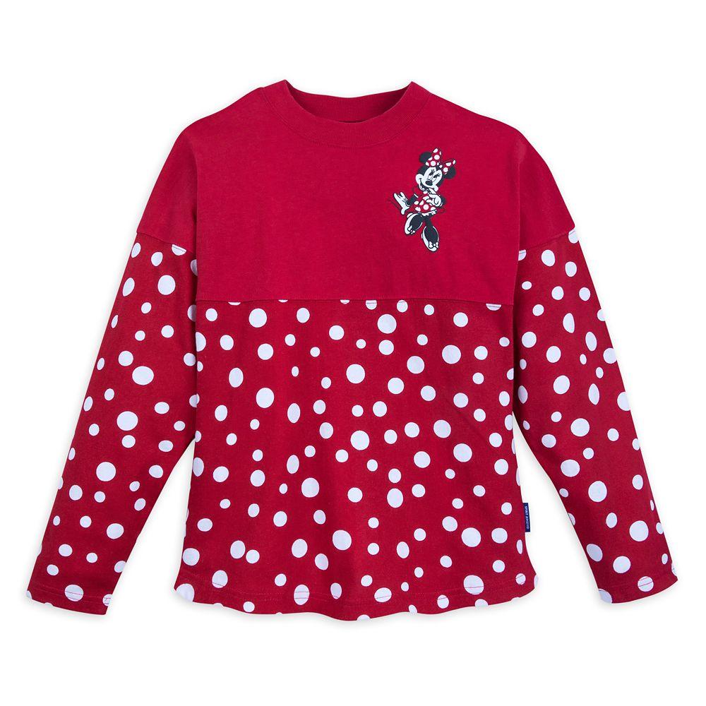 Minnie Mouse Polka Dot Spirit Jersey for Kids  Walt Disney World