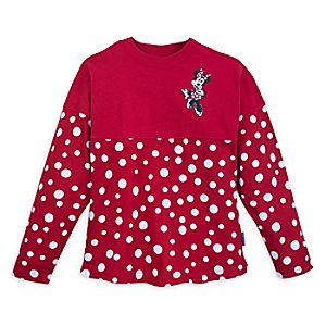 Minnie Mouse Polka Dot Spirit Jersey for