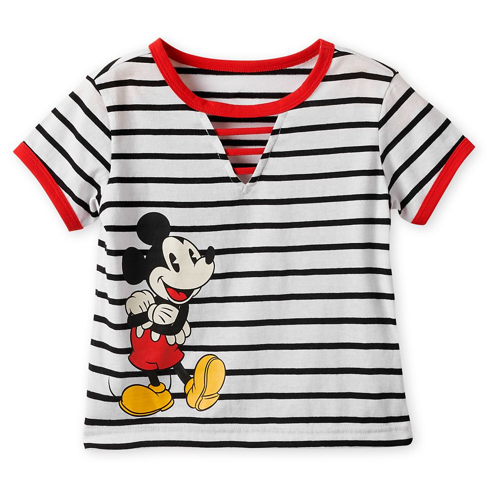 Mickey Mouse Striped Top for Girls Official shopDisney