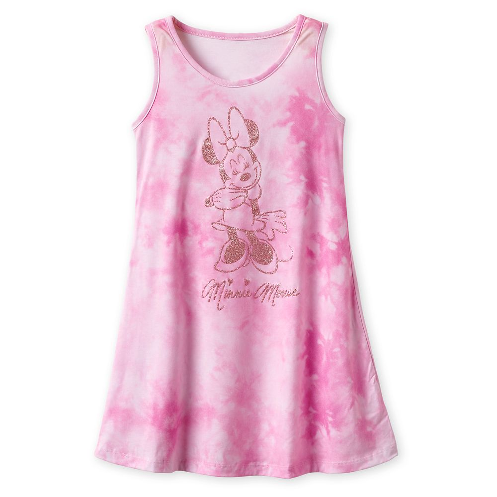 Minnie Mouse Tie-Dye Dress for Girls